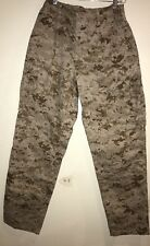 USMC MARINES COMBAT DESERT DIGITAL MARPAT PANTS LARGE REGULAR NWOT