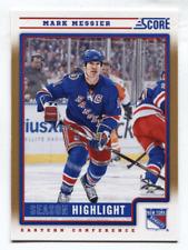 2012-13 Score Gold Rush Parallel #7 Mark Messier Rangers