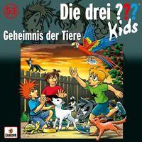DIE DREI ??? KIDS - 053/GEHEIMNIS DER TIERE   CD NEU
