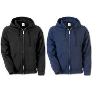 Herren Sweatjacke Sweater Gildan Heavy Blend Full Zip Hooded Sweatshirt Zipper