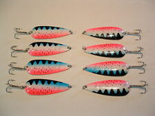 8 Eagle Bay RAINBOW TROUT  Fishing Lures 3/4 ounce Pike Muskie Trout Salmon USA