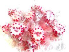 (2,35 €/100g) 210 x RocksBonbons I Love You Tischdeko Hochzeit Candybar vegan