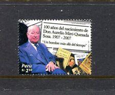 Peru 1628, MNH, Aurelio Miro Quesada Sosa, Writer 2008. x29603