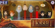 PEZ Collector Series The Hobbit An Unexpected Journey 8-piece Set Plus Candy