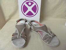 Women's Hush Puppies 8 M Miranda Aida Body Shoe Sport Sandals Taupe Nubuck