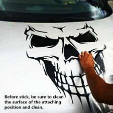 Car Stickers Black Skull Hood Decal Vinyl Large Graphic Truck Window Whole Body