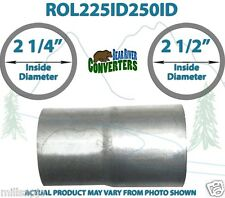 "2 1/4"" ID to 2 1/2"" ID Universal Exhaust Pipe to Pipe Adapter Reducer"