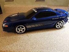 Tamiya RC Ford Mustang Cobra R 1995 Touring Car - Blue with Upgrades!