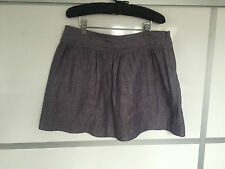 Theory bluey purple linen skirt Size US4 UK8