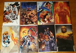 Fantastic Four #1 (8) Virgin Variants Artgerm Campbell Mayhew Bundle Lot 8 NM