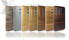 Textured Wood Skin Sticker For LG G2 D802 Decal Wrap Cover Protector Case