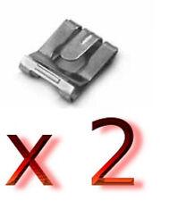 neu 2 x SICHERUNGSKLAMMER OPEL Corsa B MOVANO Tigra VECTRA B CC Astra F Auspuff