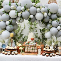 Large Big Grey Balloons Round Latex Ballons For Wedding Birthday Party Decor