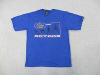 VINTAGE Starter Florida Gators Shirt Adult Medium Blue UF Basketball Mens 90s