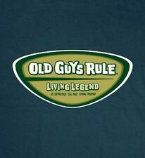 "Old Guys Rule "" Living Legend "" A Legend In My Own Mind Beach T-Shirt Size 3X"