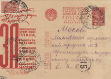 RUSSIA JUDAICA: 1930s Propaganda Postcard to Jewish Colonization Society (28)