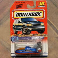 MATCHBOX BATEAU HAUTE VITESSE HYDROPLANE  • ©1998  •  N°96014  •  BASE PLASTIQUE