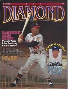 THE DIAMOND MAGAZINE HANK AARON COVER MARCH/APRIL 1994