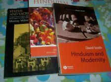 Lot 3 books Studying Hinduism 9780415468480 Hinduism 0631208623; 9780415468480