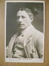 1904 USED THEATRE STARS POSTCARD- MR LEWIS WALLER