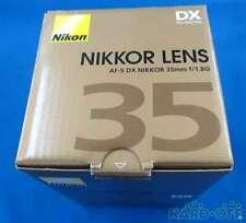 NIKON Wide Angle Single Focus Lens AF-S DX NIKKOR 35mm F1.8G