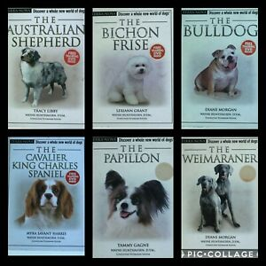 Terra Nova Series Dog Care and Training Books Multiple Breeds Hardback with DVD