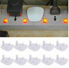 Baby Safety Outlet Plug Covers Socket Protectors Shock Guard Protections 3 Pins