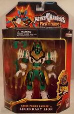 Power Rangers Mystic Force Mega Morphin Green Ranger To Legendary Lion Bandai