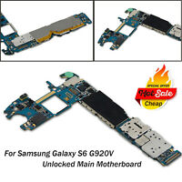 For Samsung Galaxy S6 G920V Verizon GSM Unlocked Main Motherboard Logic Board