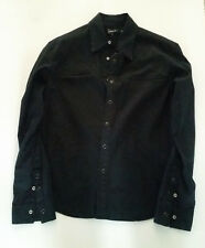 "HOWE Designer Button Down Medium Shirt ""Country Gentleman"" revolver cross design"