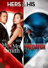 HERS & HIS: MR. & MRS. SMITH/PREDATOR [USED DVD]