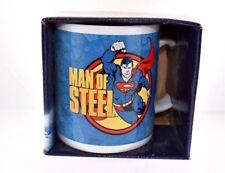 Superman Mug Man of Steel Cartoon Comics Coffee Cup