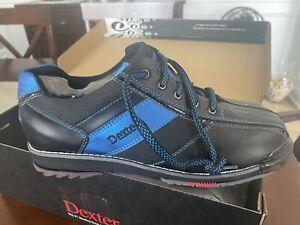 Dexter SST 8 Pro Black/Blue Mens Bowling Shoes - Size 9.5 M NEW IN BOX