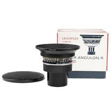 Leica 21mm F3.4 SUPER-ANGULON-R Leitz Lens in Original Box