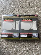 Brand New Power Ease Master Set With Remote Open And Closes Blind Slats