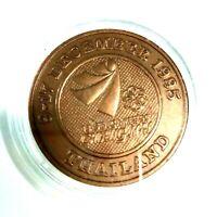 Doi Suthep Temple Landmark on Sea Game Medal Commemoration 9-17 December 1995