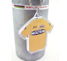 Eddy Merckx 1974 Molteni Yellow Tour De France Cotton Cycling Jersey Keyring