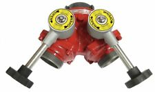 Elkhart Wye Fire Hose Ball Valve Inlet Size 2 12 In X2 Outlet Size 2 12 In