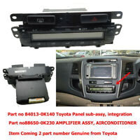 TOYOTA HILUX FORTUNER 2011-14 AMPLIFIER ASSY, AIRCONDITIONER 88650-0K230,