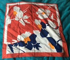 Beautiful Italian Scarf  - 30x30 inches approximately. Very colourful