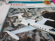 Fliegen 8: Karte 45 Learjet Businessjet
