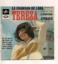 FRENCH EP TEREZA LA CHANSON DE LARA  DU FILM DOCTEUR JIVAGO POCHETTE DIFFERENTE