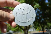 Silver Toyota Corolla RAV-4 2001-07 Center Cap Part # 42603-YY040 / 42603-YY050