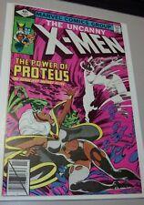 "Marvel UNCANNY X-MEN #127 High Grade Great Byrne Art - ""The Power of Proteus"""