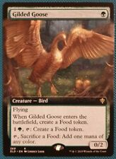 "Magic The Gathering ""Gilded Goose"" NON-FOIL EXTENDED ART RARE [Eldraine] MTG"