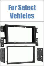 Matte Black 06-12 Suzuki Grand Vitara Double Din Car Radio Install Dash Trim Kit