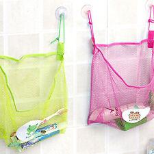 Baño Malla Net Bag Organizador de almacenamiento de juguetes Bañera Bebé Niños