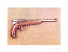 Pistolet Cents-Gardes système à percussion Empire Napoléon III ILLUSTRATION 1964