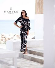 Marble Ladies Clothing Maxi Dress Size 12 BNWT  Style 5754 RRP £89
