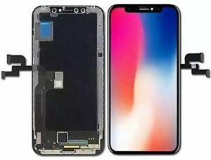 iPhone X OLED LCD Display Screen Replacement Full Assembly 3D Touch Digitizer